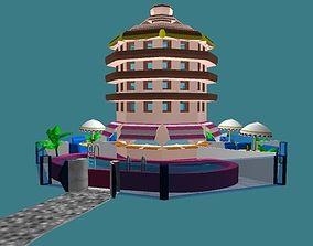 Hotel Maquette 3D model