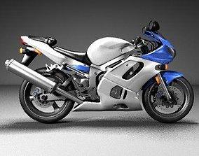Motorcycle 3D printable model