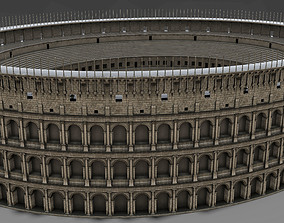Colosseum Undamage 3D asset realtime
