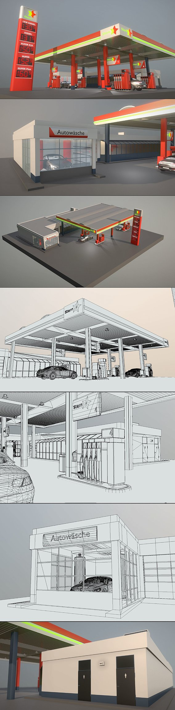 Gas Station Type-2