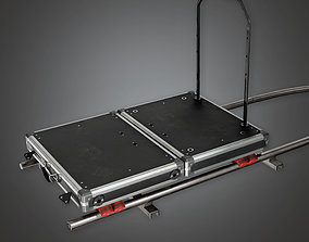 Dolly Track HLW - PBR Game Ready 3D asset