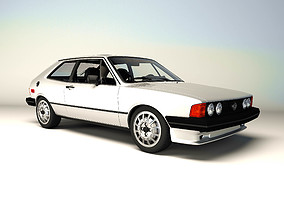 3D model VW Scirocco 1981