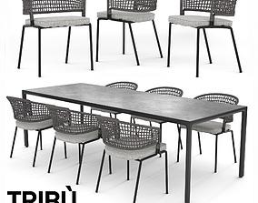3D model Dining Table 1 - Tribu