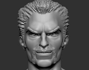 Doctor Strange Head 3D print model