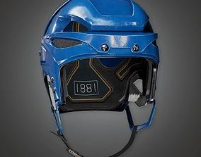 Hockey Helmet 01a - Sports And Gym 3D asset