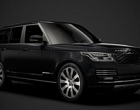 Range Rover Sentinel L405 2020 3D model