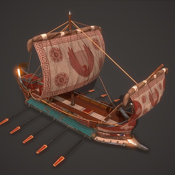 Ancient Ship 02
