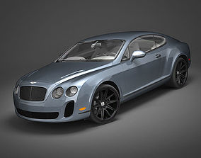 Bentley Continental SS 2010 3D model