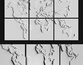Gypsum frames 3D
