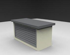 3D model ventilation shaft