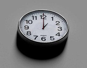 3D asset animated Clock