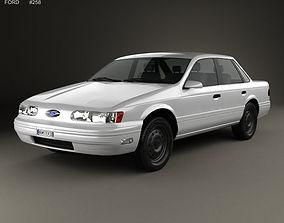 3D model Taurus 1992