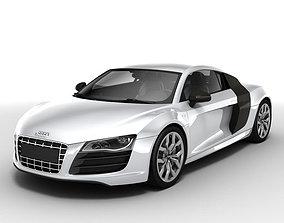 Audi R8 V10 2010 sport 3D