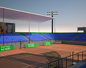 game 3D Tennis Stadium