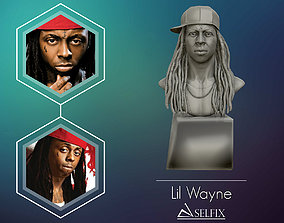 art Lil Wayne 3D printable model