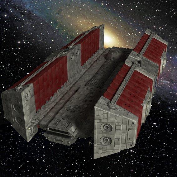 Star Wars BFF-1 Freighter