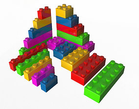 3D asset Lego Set