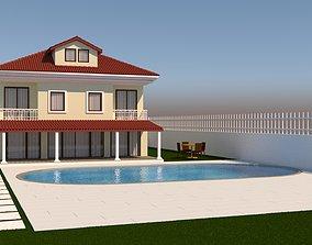 3D model Villa house home