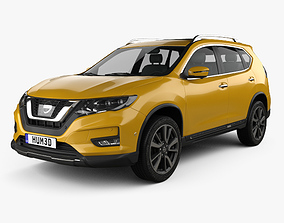 3D model Nissan X-Trail 2017