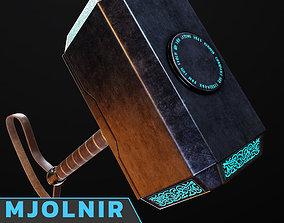 3D asset Mjolnir Game Prop