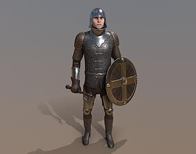 TAB Medieval Knight - 7A - Skin2 3D model