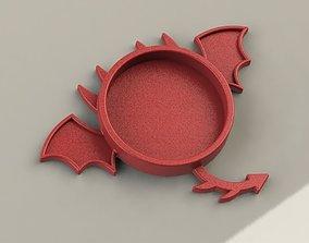 3D printable model Dragon Coaster