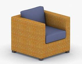0977 - Armchair 3D asset