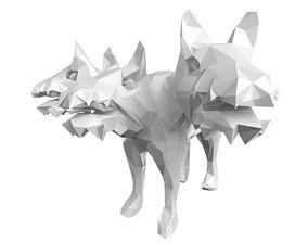 3D model Lowpoly Cerberus