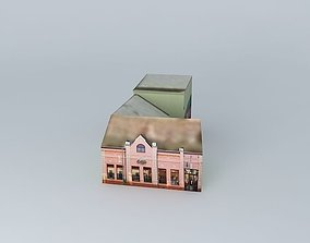 Arena games room and shops 3D