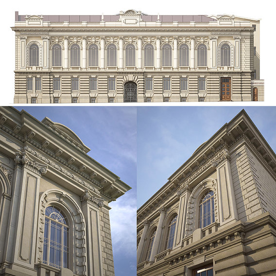 Restoration project of the building in Odessa.