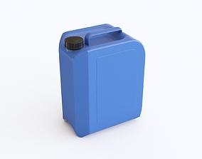 Plastic canister 3D model