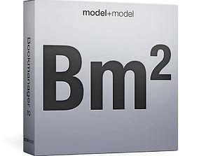 3D model Bookmanager 2 script