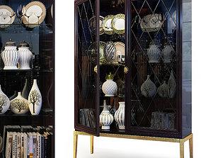 Cabinet showcase Gatsby by Cavio Casa 3D model
