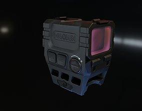 Holosun AEMS 221301 3D asset