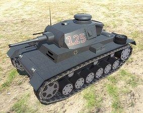 3D model PzKpfw III