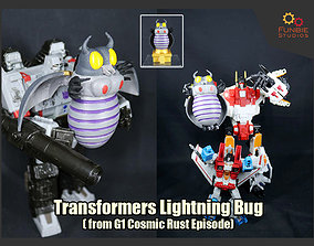 Transformers Lightning Bug from Cosmic Rust 3D print model