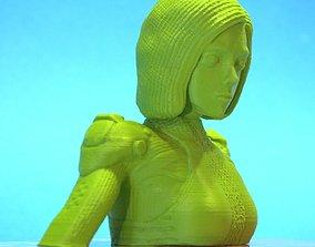 Alita battle angel bust version 3D print model