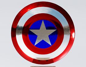 3D asset Captain Americas Shield