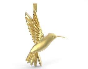 3D print model Hummingbird jewelry