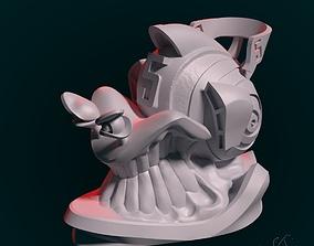 art Snail 3D print model