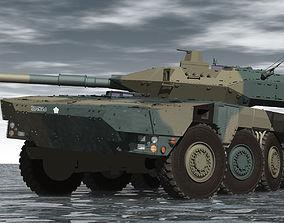 JGSDF Type-16 maneuver combat vehicle Update 3D model