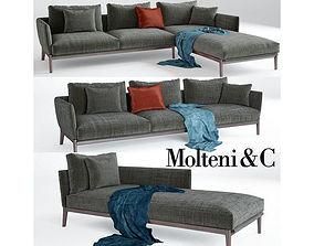 Chelsea sofa Molteni 3D