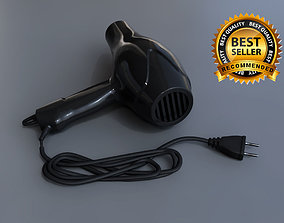 Hair dryer realistic 3D