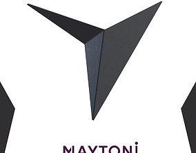 Sconce Trame C808WL-L3B Maytoni Modern 3D