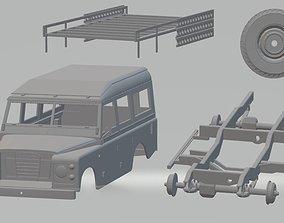 Land Rover Serie 3 Printable Car