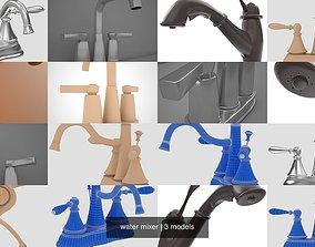3D water mixer