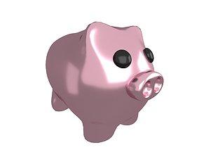 Piggy Bank V1 007 3D model