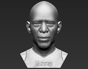Kareem Abdul-Jabbar bust 3D printing ready stl obj