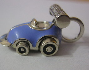 3D print model Baby-car pendant