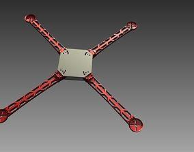 control 3D Printable Quick-Connect Quadcopter